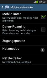 Samsung S7275 Galaxy Ace 3 - Netzwerk - Netzwerkeinstellungen ändern - Schritt 8