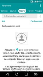 LG LG K8 - Contact, Appels, SMS/MMS - Ajouter un contact - Étape 4