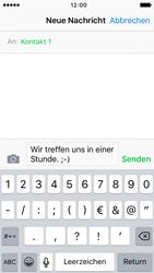 Apple iPhone 5S mit iOS 9 - MMS - Erstellen und senden - Schritt 10