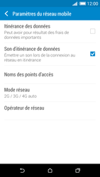 HTC Desire 820 - Internet et connexion - Activer la 4G - Étape 7