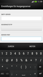 HTC One Mini - E-Mail - Manuelle Konfiguration - Schritt 16