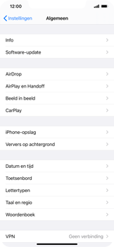 Apple iPhone 12 - apps - apps afsluiten - stap 6