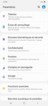 Samsung Galaxy A31 - Sécuriser votre mobile - Personnaliser le code PIN de votre carte SIM - Étape 4