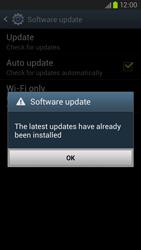 Samsung Galaxy S III LTE - Software - Installing software updates - Step 12