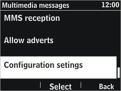 Nokia Asha 302 - MMS - Automatic configuration - Step 10