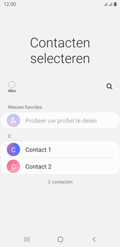 Samsung galaxy-j6-sm-j600fn-ds-android-pie - Contacten en data - Contacten overzetten via Bluetooth - Stap 6