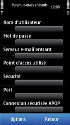 Nokia N8-00 - E-mail - Configuration manuelle - Étape 19