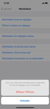 Apple iPhone 11 Pro - Téléphone mobile - Réinitialisation de la configuration d