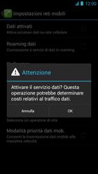 Alcatel One Touch Idol - Internet e roaming dati - configurazione manuale - Fase 7