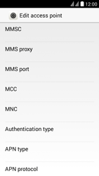 Huawei Y625 - MMS - Manual configuration - Step 9