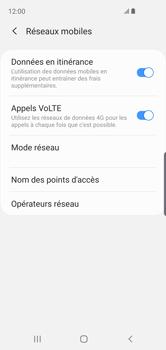 Samsung Galaxy S10e - Internet et roaming de données - Désactivation du roaming de données - Étape 6