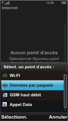 Sony U5i Vivaz - Internet - Configuration manuelle - Étape 9
