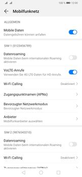 Huawei P30 Pro - Internet und Datenroaming - Prüfen, ob Datenkonnektivität aktiviert ist - Schritt 6