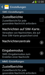 Samsung S7580 Galaxy Trend Plus - SMS - Manuelle Konfiguration - Schritt 8