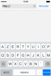 Apple iPhone 4S iOS 7 - Internet et roaming de données - navigation sur Internet - Étape 5