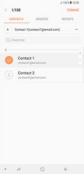 Samsung Galaxy Note 8 - E-mails - Envoyer un e-mail - Étape 8