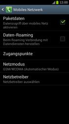 Samsung I9300 Galaxy S III - Netzwerk - Netzwerkeinstellungen ändern - Schritt 6