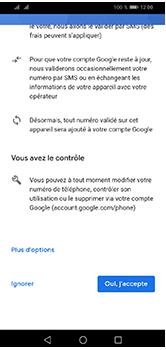 Huawei Y5 (2019) - Applications - Créer un compte - Étape 14