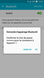 Samsung J500F Galaxy J5 - Bluetooth - connexion Bluetooth - Étape 9