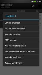 HTC One Mini - Anrufe - Anrufe blockieren - Schritt 5