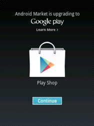 Samsung Galaxy Pocket - Applications - Setting up the application store - Step 16