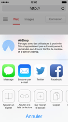 Apple iPhone 5 iOS 7 - Internet et roaming de données - Navigation sur Internet - Étape 17