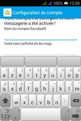 Alcatel Pixi 3 Dual Sim - E-mails - Ajouter ou modifier un compte e-mail - Étape 20