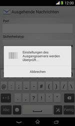 Sony Xperia E1 - E-Mail - Konto einrichten - Schritt 15