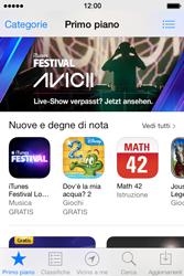 Apple iPhone 4S iOS 7 - Applicazioni - Installazione delle applicazioni - Fase 6