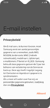 Samsung Galaxy A20e - E-mail - e-mail instellen (outlook) - Stap 9