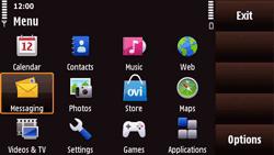 Nokia N97 Mini - E-mail - Sending emails - Step 3