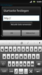 Sony Xperia Sola - Internet - Manuelle Konfiguration - Schritt 20