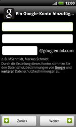 HTC X315e Sensation XL - Apps - Konto anlegen und einrichten - Schritt 7