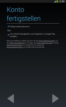 Samsung T315 Galaxy Tab 3 8-0 LTE - Apps - Konto anlegen und einrichten - Schritt 17