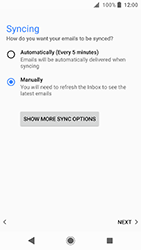 Sony Xperia XA2 - E-mail - Manual configuration POP3 with SMTP verification - Step 21