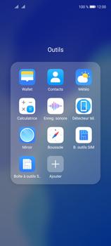 Huawei P40 Lite 5G - Contact, Appels, SMS/MMS - Ajouter un contact - Étape 4