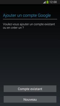 Samsung Galaxy Note 3 - Applications - Créer un compte - Étape 4