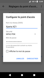 Sony Xperia XZ1 - Internet et connexion - Partager votre connexion en Wi-Fi - Étape 8