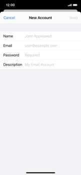 Apple iPhone 11 Pro - E-mail - Manual configuration - Step 8