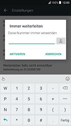 HTC U Play - Anrufe - Rufumleitungen setzen und löschen - Schritt 7