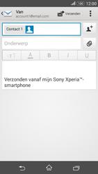 Sony E2003 Xperia E4G - e-mail - hoe te versturen - stap 8