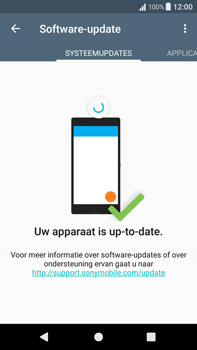 Sony Xperia XA1 Plus (G3421) - Software updaten - Update installeren - Stap 6