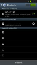 Samsung Galaxy Note II - Bluetooth - Collegamento dei dispositivi - Fase 8
