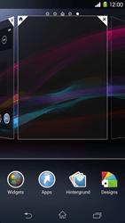 Sony Xperia Z1 - Startanleitung - Installieren von Widgets und Apps auf der Startseite - Schritt 4