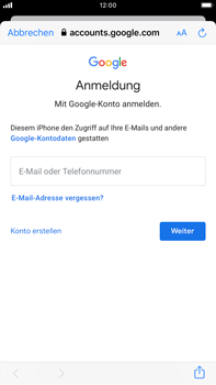 Apple iPhone 8 Plus - iOS 13 - E-Mail - 032a. Email wizard - Gmail - Schritt 7
