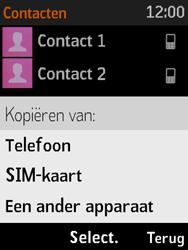 Nokia 3310 3G (TA-1022) - Contacten en data - Contacten kopiëren van toestel naar SIM - Stap 6