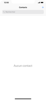 Apple iPhone XR - Contact, Appels, SMS/MMS - Ajouter un contact - Étape 4