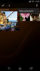 Sony Xperia Z3 Compact - contacten, foto