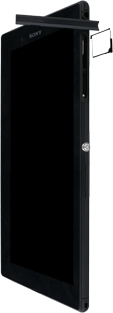 Sony Xperia Z Ultra LTE - SIM-Karte - Einlegen - Schritt 5