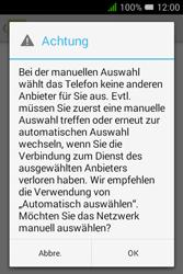 Alcatel Pixi 3 (3.5) - Netzwerk - Manuelle Netzwerkwahl - Schritt 10